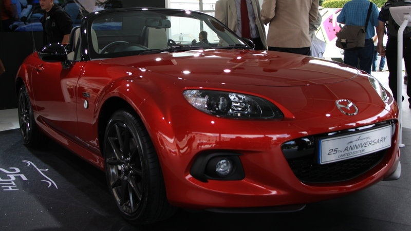 Mazda MX-5 – Edición Limitada en el Festival of Speed
