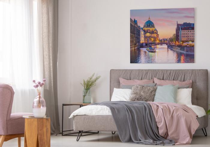 Berliner Dom Bild im Schlafzimmer