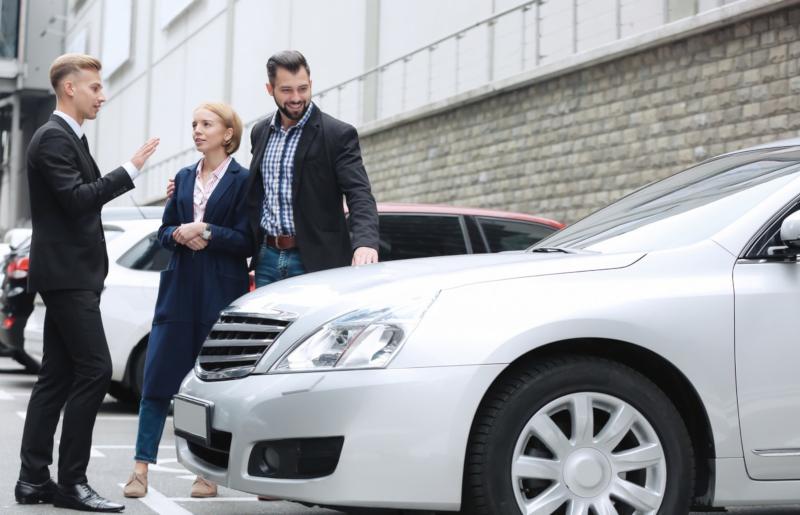 Samochód podczas sprzedaży w skupie aut za gotówkę w Gdyni