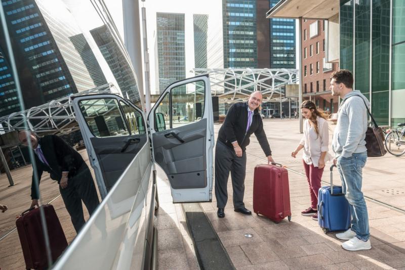 Pasażerowie busa z Polski do Niemiec należącego do firmy Przewozy BANAN
