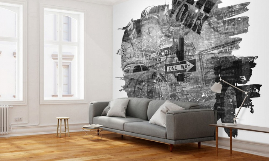 wall murals a brilliant way to decorate your apartment