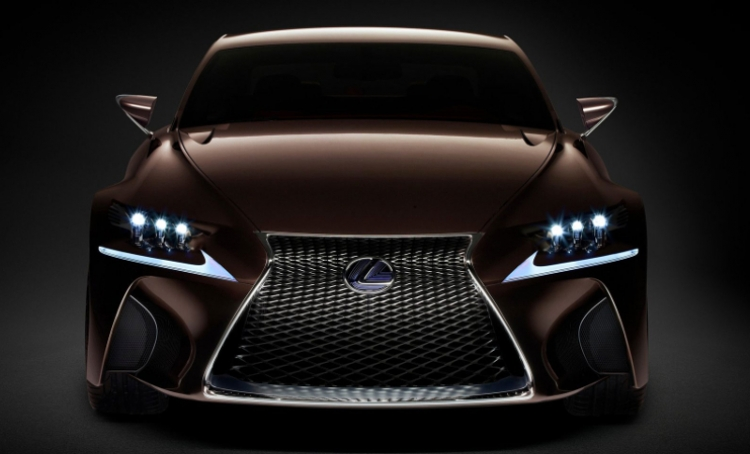 The new Lexus LF-SA concept makes its world debut at the 2015 Geneva Motorsho