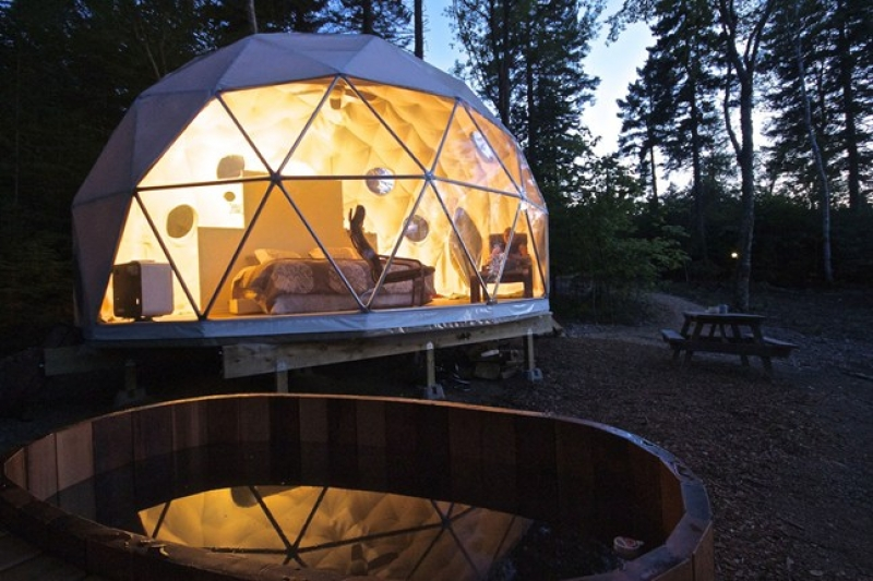 Dream Dome Camping