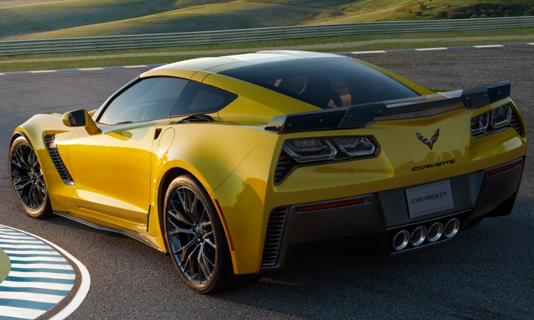 Награда журнала Top Gear: Corvette Z06